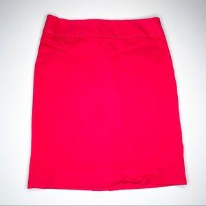Banana Republic Hot Pink Pencil Skirt